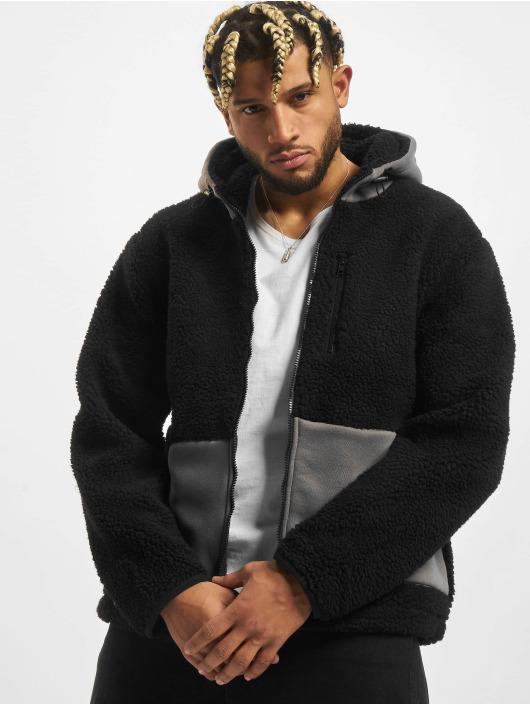 Urban Classics Kurtki przejściowe Hooded czarny
