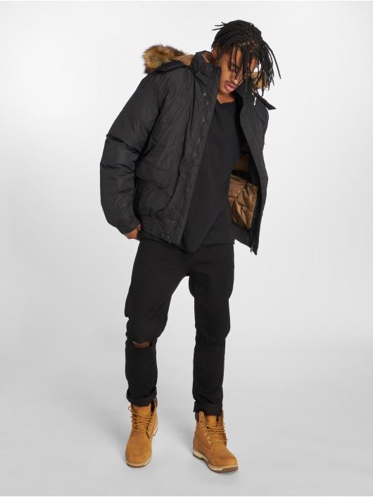 Urban Classics Kurtki zimowe Heavy czarny