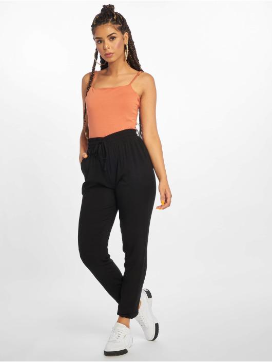 Urban Classics Látkové kalhoty Elastic čern