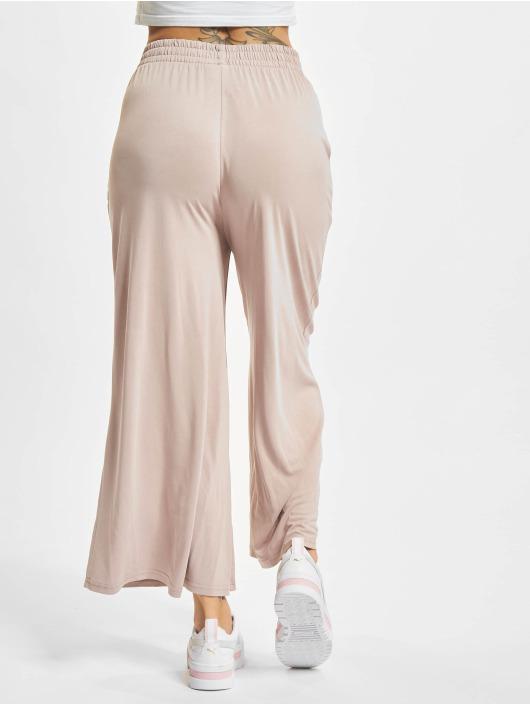 Urban Classics Látkové kalhoty Ladies Modal růžový