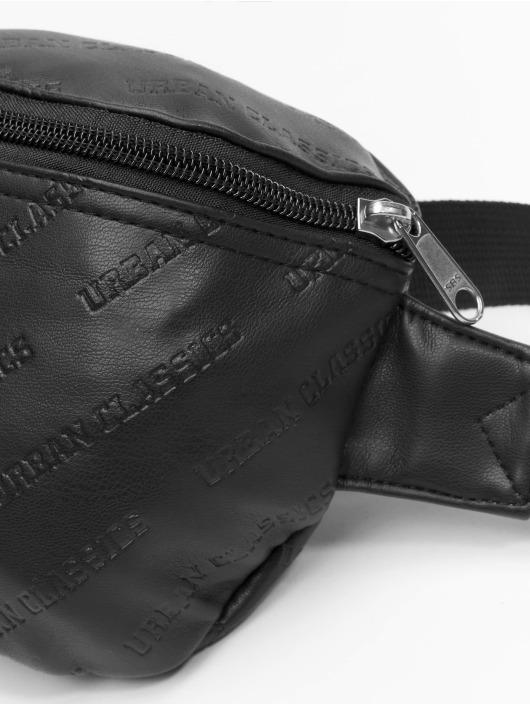 Urban Classics Laukut ja treenikassit Leather Imitation musta