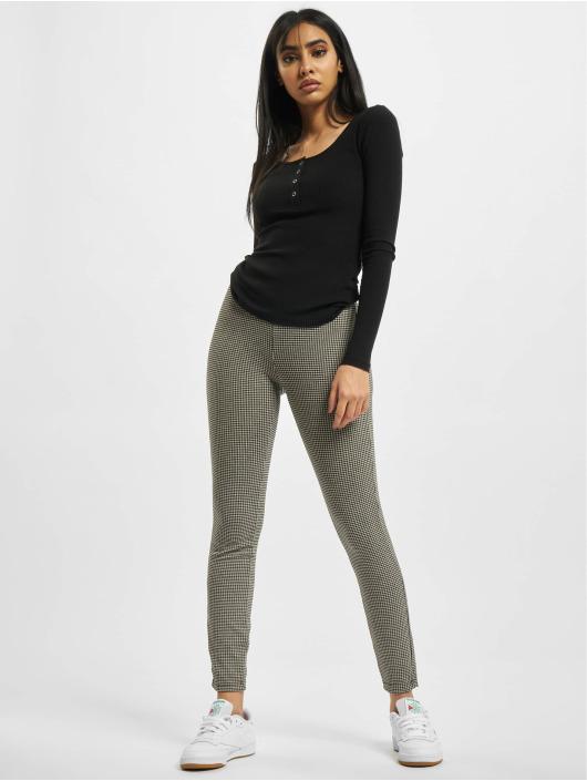 Urban Classics Legging Ladies Vichy Check High Waist blanc