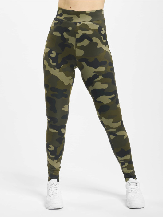 Urban Classics Legging High Waist Camo Tech camouflage