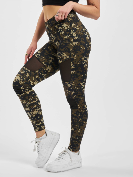 Urban Classics Legging Ladies Camo Tech Mesh camouflage