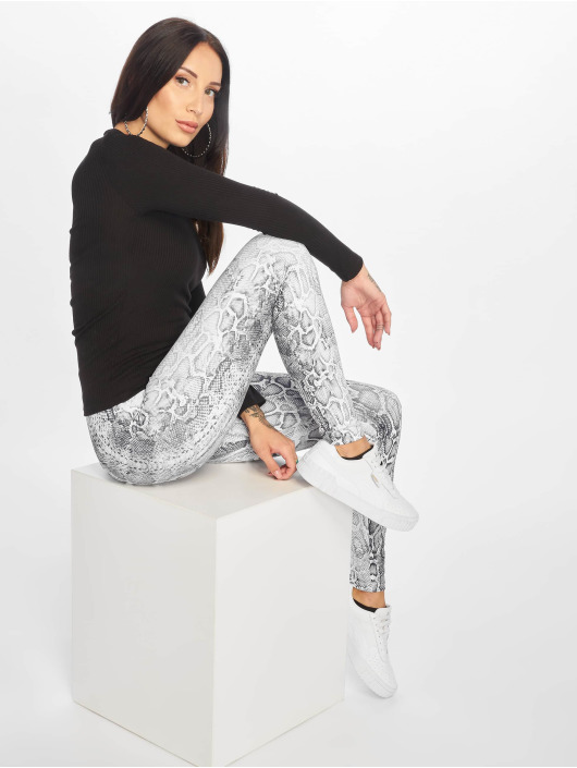 Urban Classics Legging Pattern grau