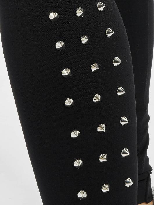 Classics 183591 Legging Noir Side Rivets Femme Urban W9DIYeEH2