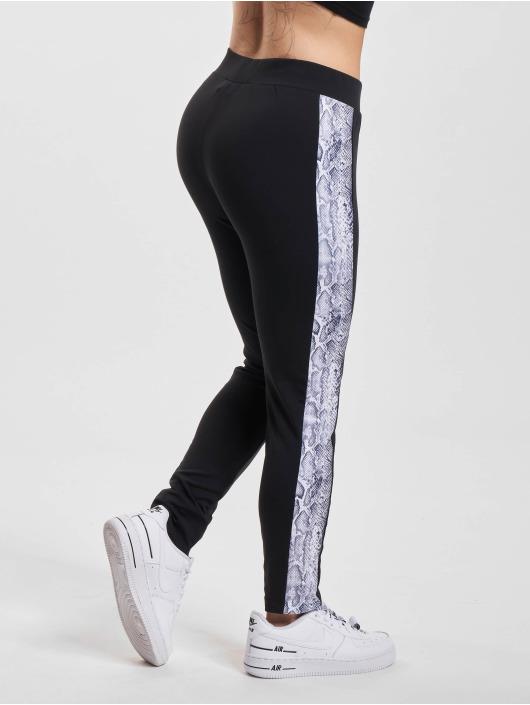 Urban Classics Legging Side Striped Pattern noir