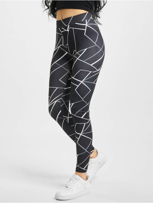 Urban Classics Legging Aop noir