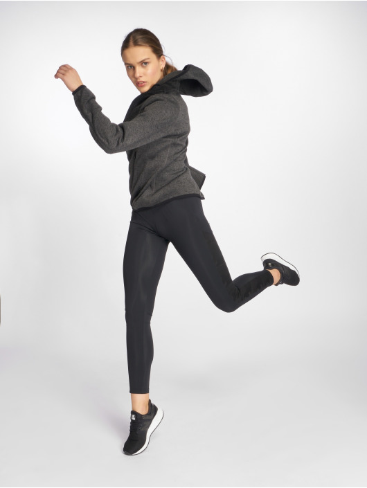 Urban Classics Legging Jacquard Camo Striped schwarz