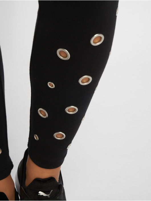 Urban Classics Legging Eyelet schwarz