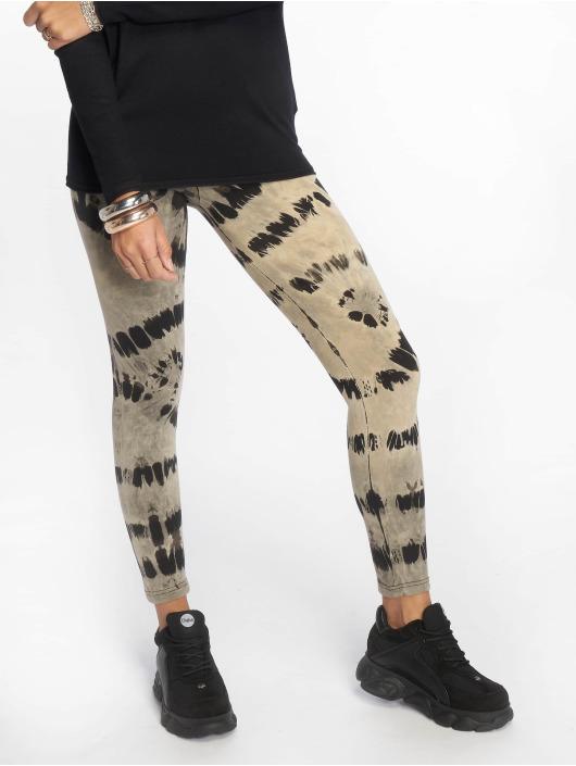 Urban Classics Legging Ladies Acid Wash Splash schwarz