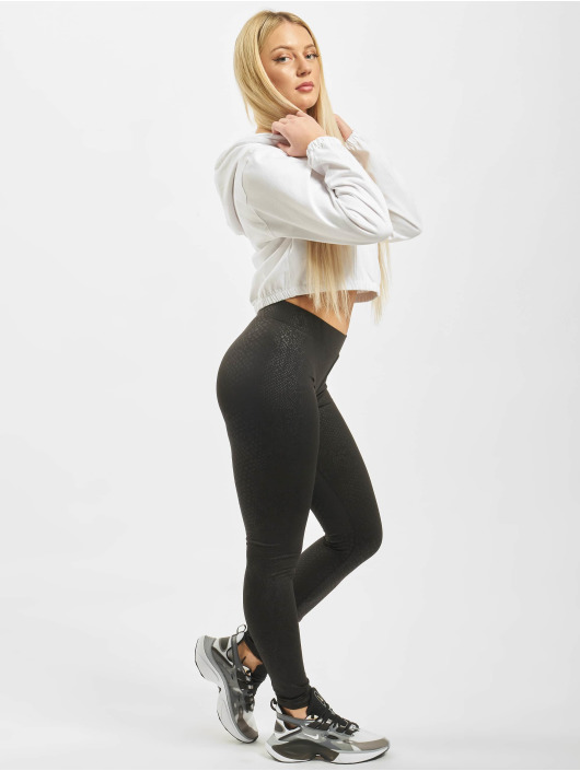 Urban Classics Legging Ladies Pattern schwarz