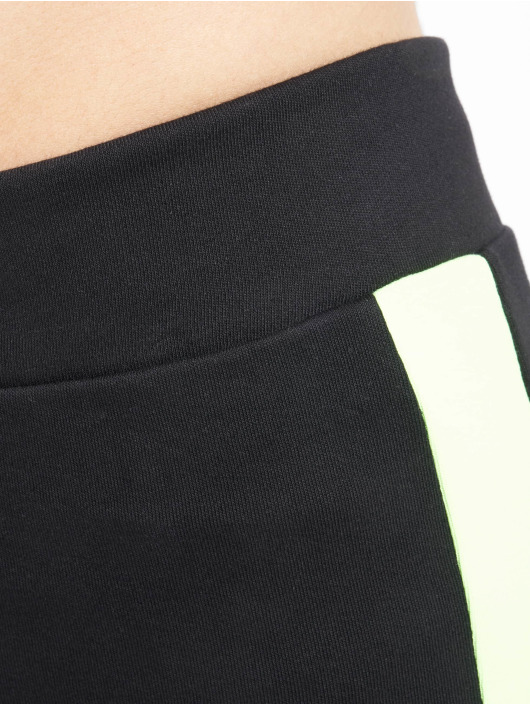 Urban Classics Legging Neon Side Stripe schwarz