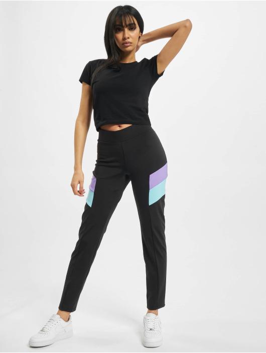 Urban Classics Legging Ladies Color Block schwarz