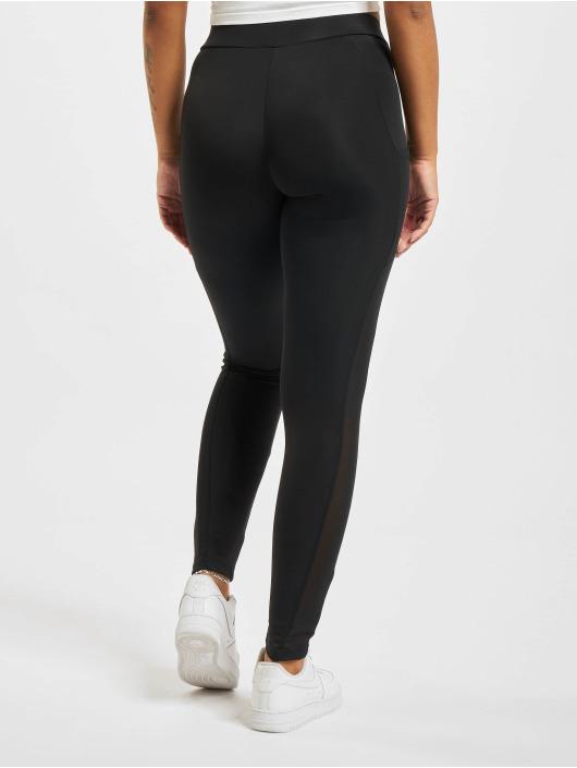 Urban Classics Legging/Tregging Tech Mesh Striped Pocket black
