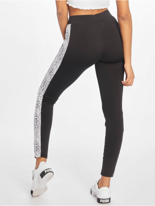 Urban Classics Legging/Tregging Side Striped Pattern black
