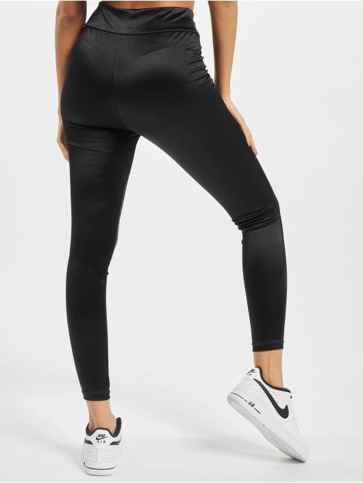 Urban Classics Legging/Tregging Ladies Shiny High Waist black
