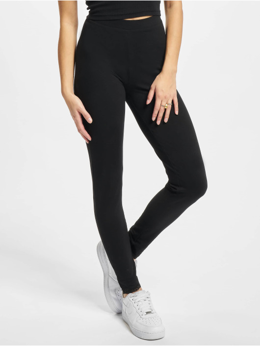 Urban Classics Legging/Tregging Ladies Lace Hem black