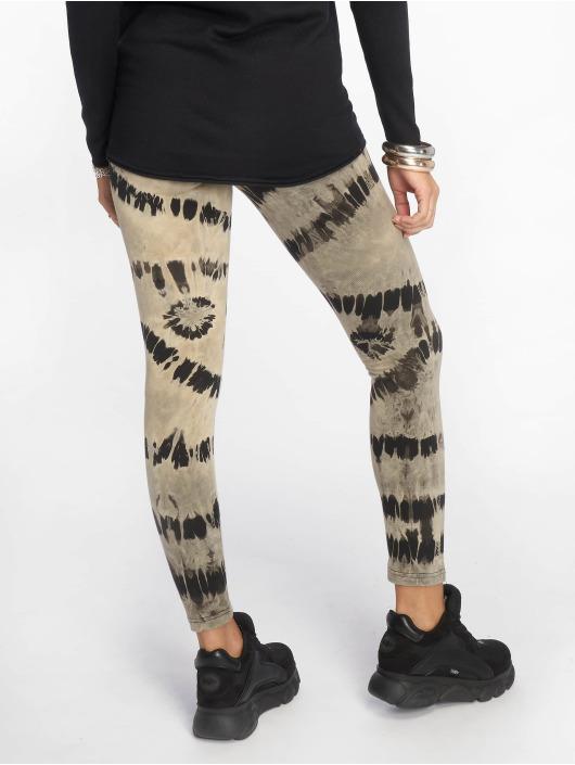 Urban Classics Legging/Tregging Ladies Acid Wash Splash negro