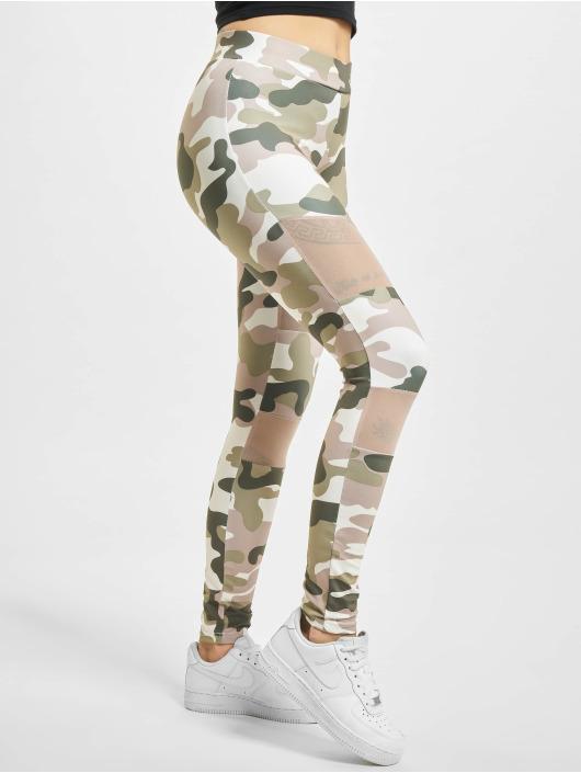 Urban Classics Legging/Tregging Classics Camo Tech Mesh rosa