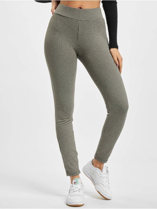 Urban Classics Legging Ladies Vichy Check High Waist weiß