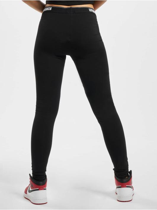 Urban Classics Legging Logo zwart