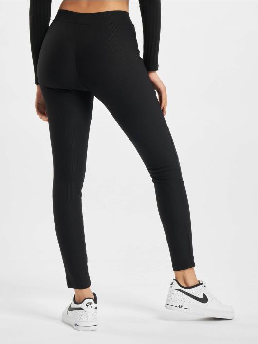 Urban Classics Legging Tech Mesh Rib zwart