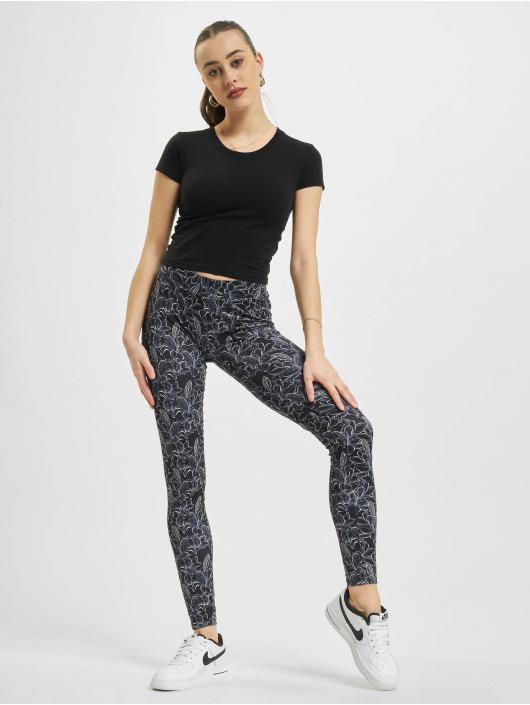 Urban Classics Legging Aop zwart
