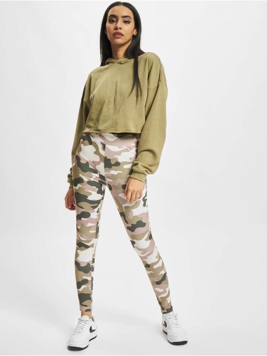 Urban Classics Leggings Ladies High Waist Camo Tech mimetico