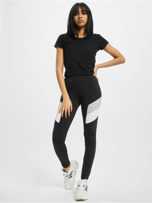 Urban Classics Leggings Ladies Color Block nero