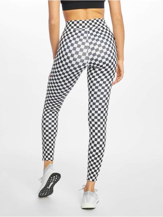 Urban Classics Leggings Check Pattern svart