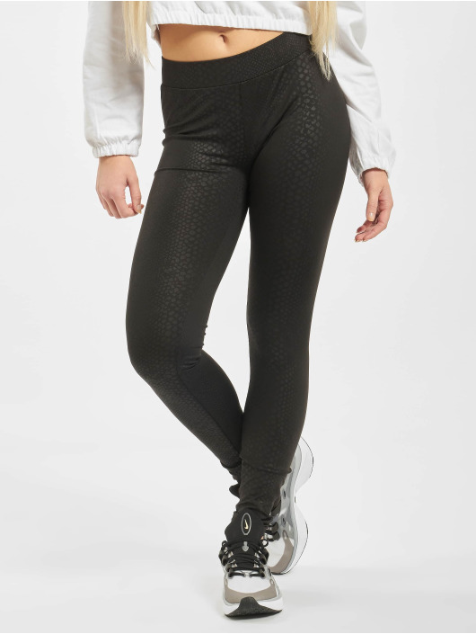 Urban Classics Leggings Ladies Pattern svart