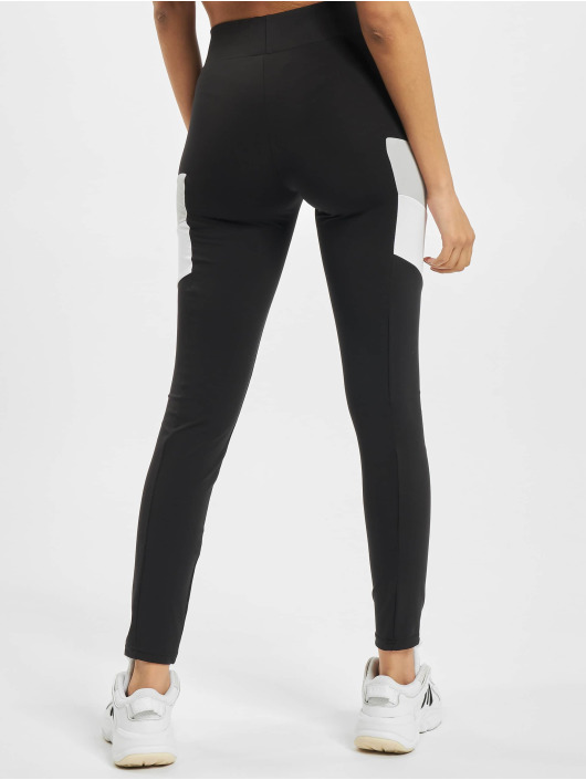 Urban Classics Leggings Ladies Color Block svart