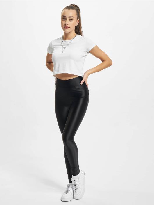 Urban Classics Leggings Ladies Highwaist svart