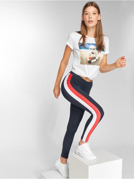 Urban Classics Leggings/Treggings Side Stripe blå