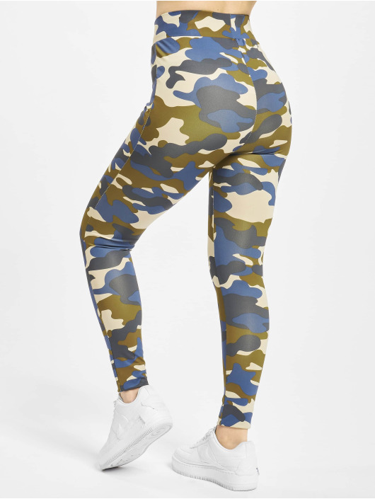 Urban Classics Leggings/Treggings High Waist Camo Tech camouflage