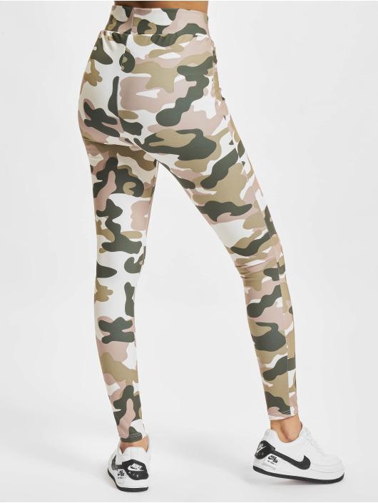 Urban Classics Leggings/Treggings Ladies High Waist Camo Tech camouflage