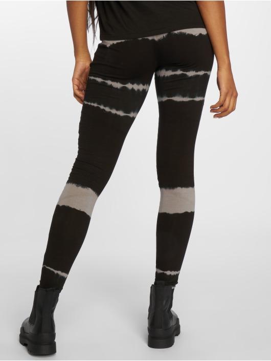 Urban Classics Leggings/Treggings Striped Tie Dye czarny