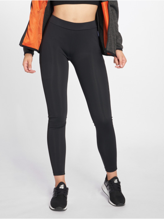 Urban Classics Leggings/Treggings Jacquard Camo Striped czarny