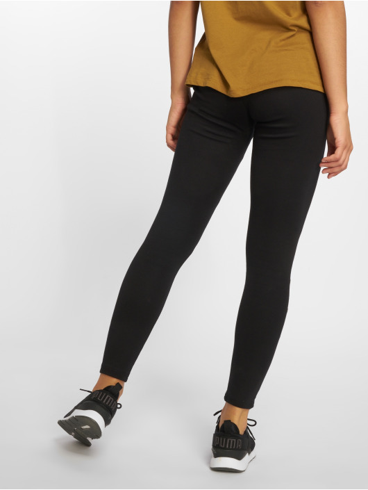 Urban Classics Leggings/Treggings Eyelet czarny
