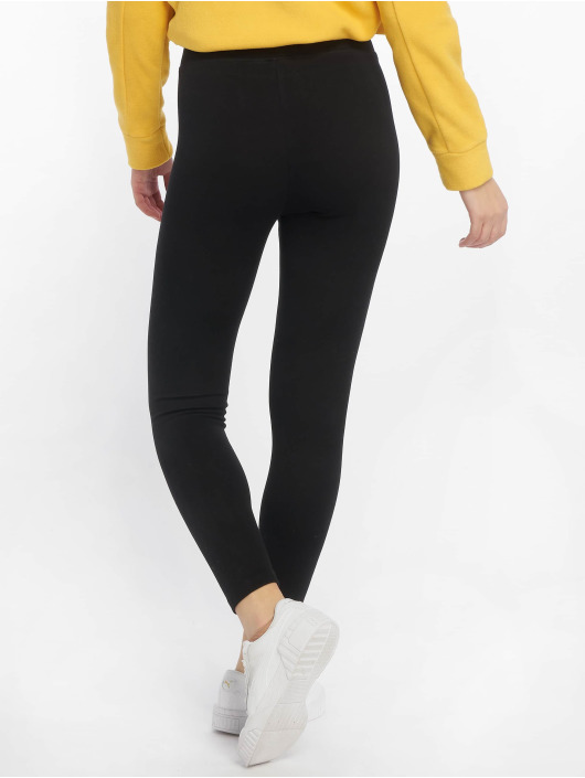 Urban Classics Leggings/Treggings High Waist Jersey czarny
