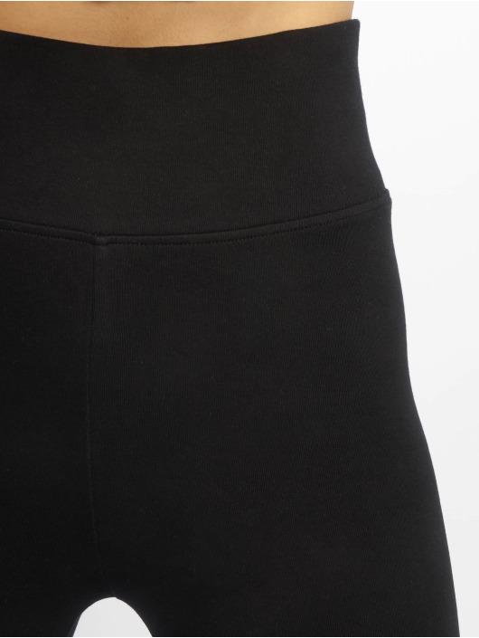 Urban Classics Leggings/Treggings High Waist Jersey czarny