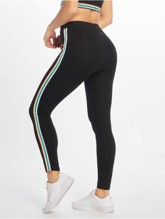 Urban Classics Leggings/Treggings Multicolor Side Taped czarny