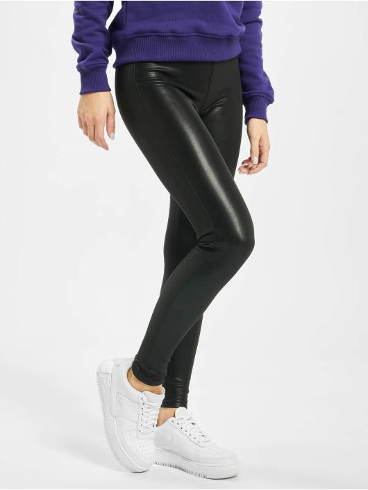 Urban Classics Leggings/Treggings Ladies czarny