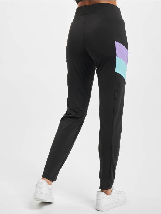 Urban Classics Leggings/Treggings Ladies Color Block czarny