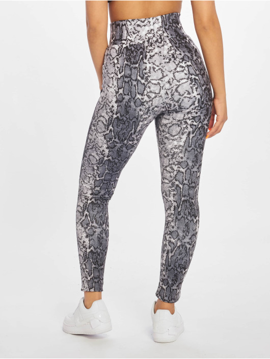 Urban Classics Leggings/Treggings Snake grå
