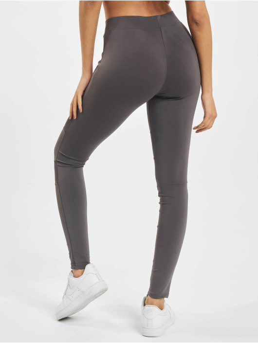 Urban Classics Leggings/Treggings Ladies Tech Mesh gray