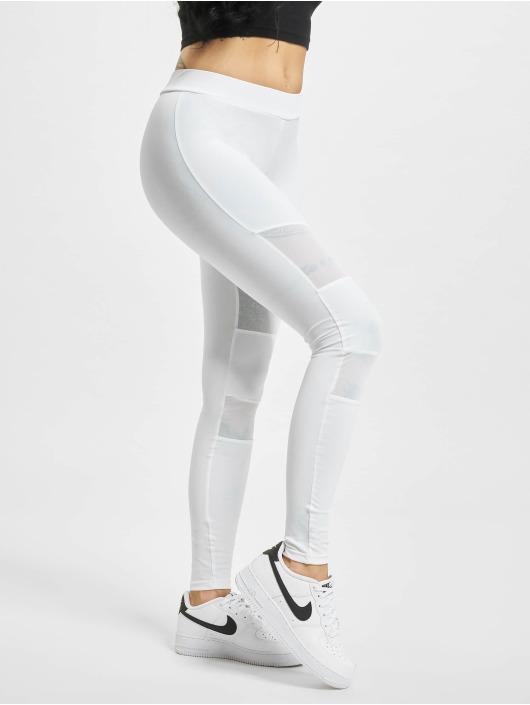 Urban Classics Leggings/Treggings Tech Mesh hvid