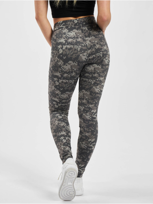Urban Classics Leggings/Treggings Ladies Camo Tech Mesh moro