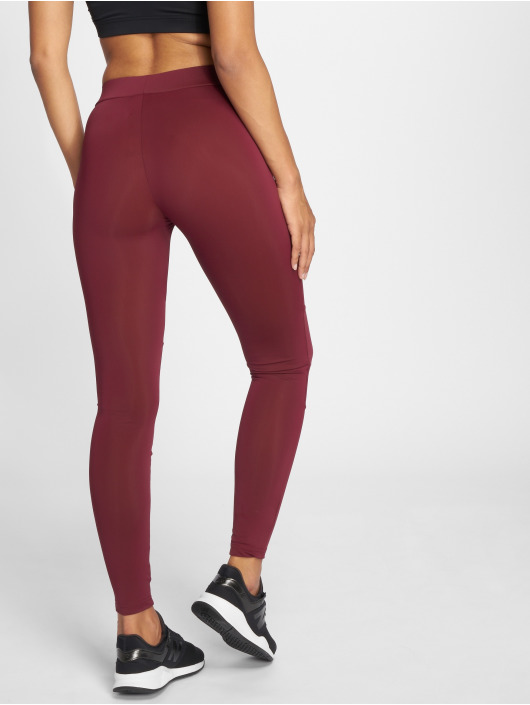 Urban Classics Leggings/Treggings Tech Mesh red